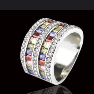 926 Sterling Silver Ring New
